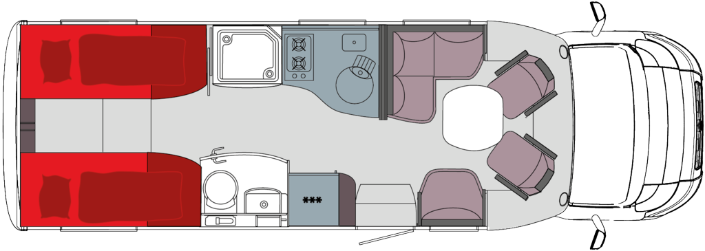Frankia T 740 GD Reisemobil
